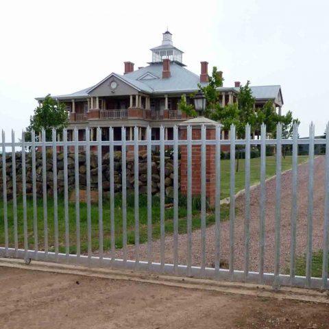 Residential Sliding Palisade Gate