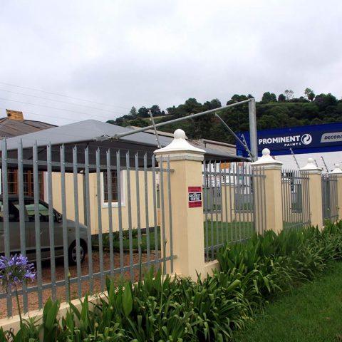 Rolled-Palisade security fencing pietermaritzburg
